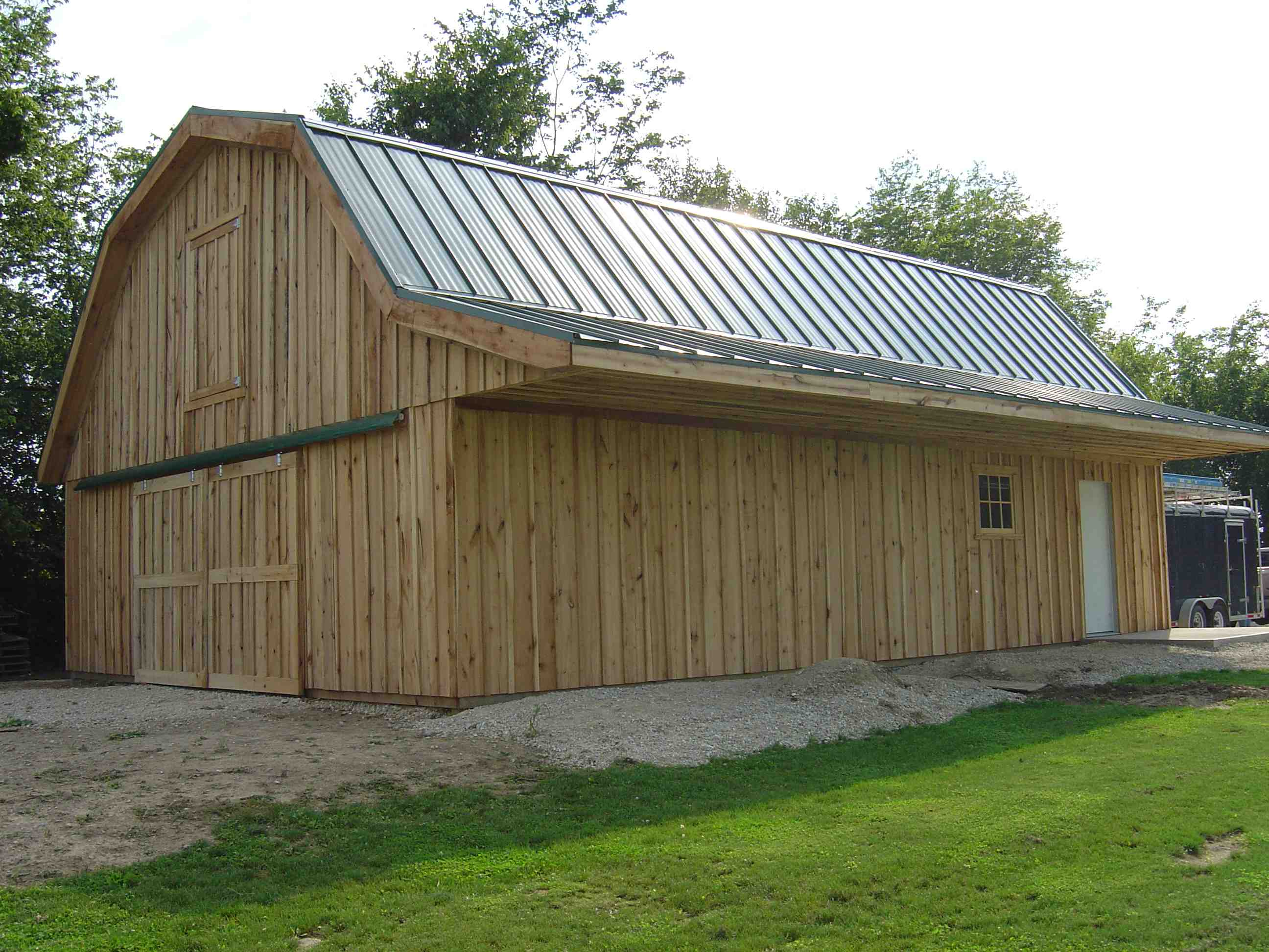 Pole buildings homes joy studio design gallery best design for Sheds and barns